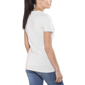 Mammut Logo T-Shirt Damen marble-white